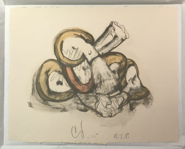 Pile Of Erasers by Claes Oldenburg