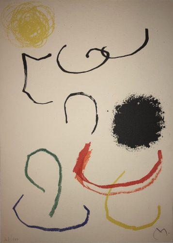 Obra Inedita Recent (plate XI) by Joan Miro at Joan Miro