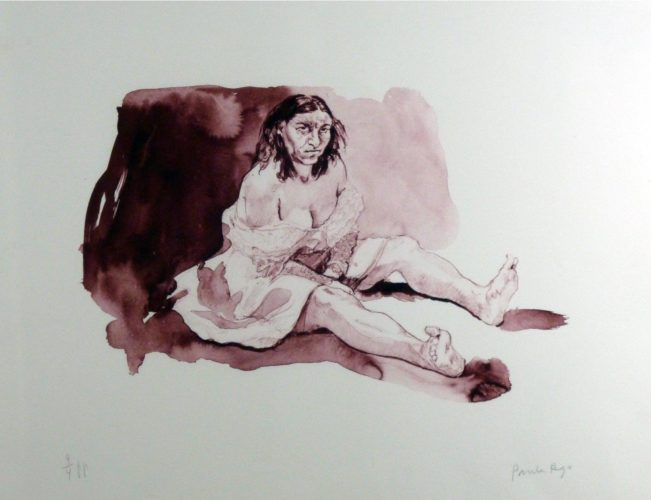 Bertha Mason by Paula Rego