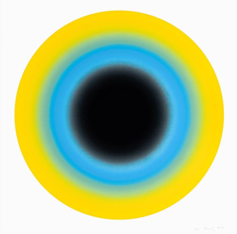 Small Sun 2 by Ugo Rondinone