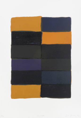 Rouge by Sean Scully