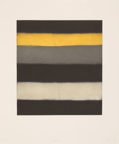 Yellow by Sean Scully at
