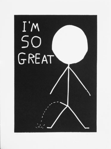 I Am So Great by David Shrigley