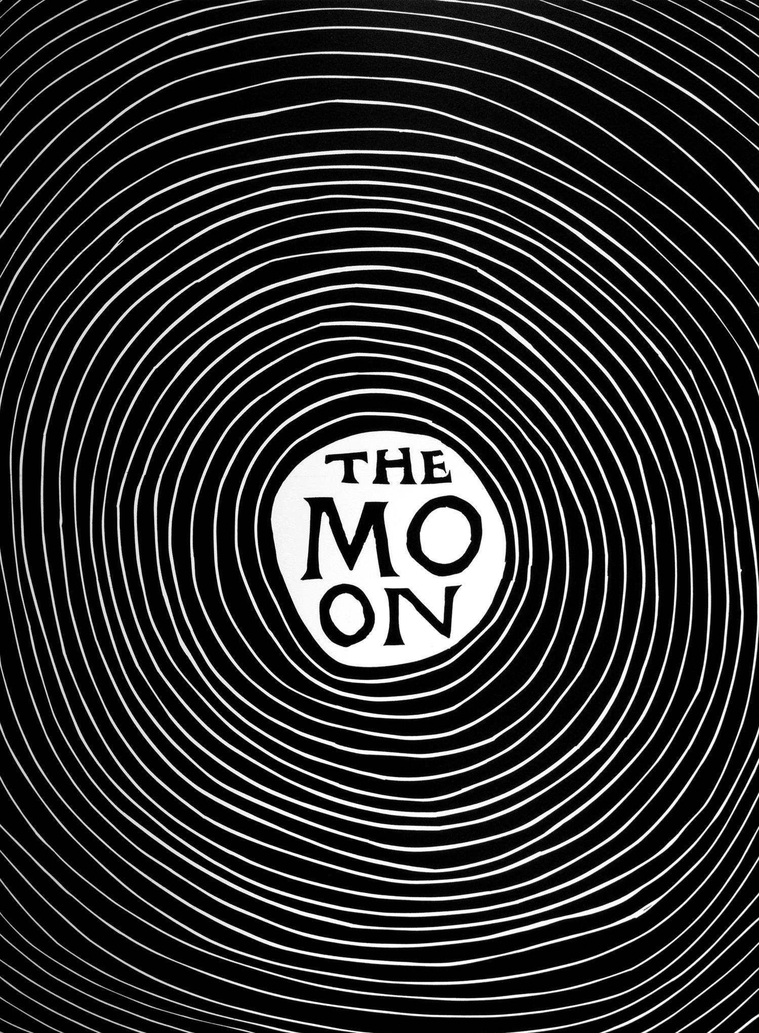 The Moon by David Shrigley