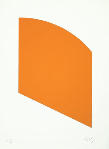 Orange (curve) by Ellsworth Kelly
