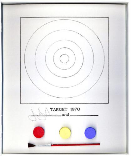 Target by Jasper Johns at Jasper Johns