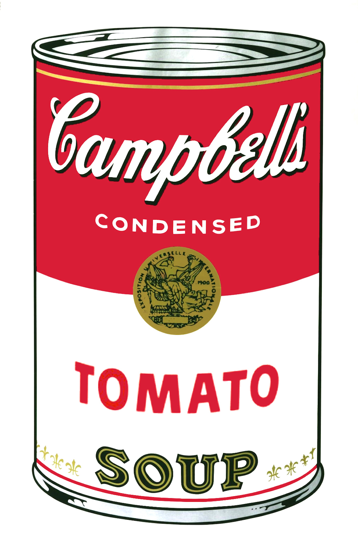Campbell's Soup I: Tomato (fs Ii.46) by Andy Warhol