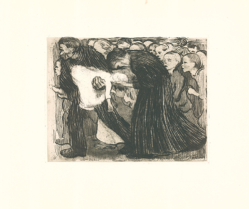 Überfahren (run Over) by Käthe Kollwitz at