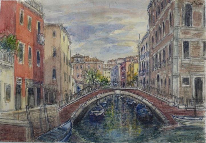 Bridge By Frari by Bruno Zupan