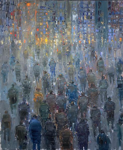Pedestrians by Bruno Zupan