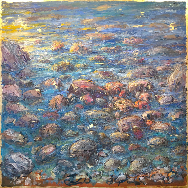 Summer Sea, Mediterranean Stones by Bruno Zupan
