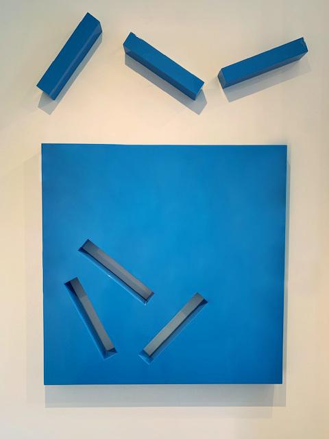 Patience, Blue by Lori Cozen-Geller