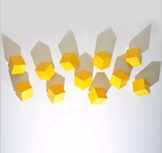 Chatterboxes, Yellow (set Of 5) by Lori Cozen-Geller