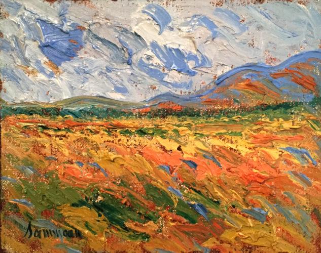 Wheat Field Bekaa Valley by Samir Sammoun at