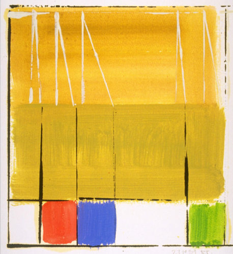 Wallseries Study #5 by Richard Roblin at