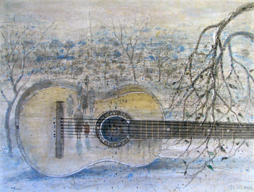 My Father's Guitar by Bruno Zupan