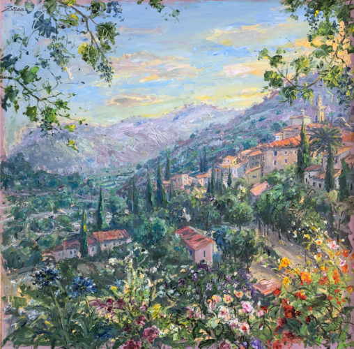 Valley Of Valldemossa, June Light by Bruno Zupan