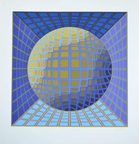 Dauve by Victor Vasarely