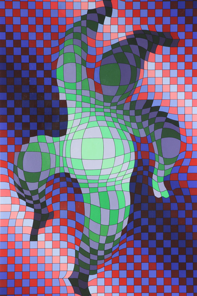 Harlequin by Victor Vasarely