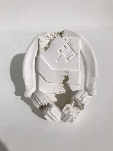 Cassette Player (future Relic-07) by Daniel Arsham