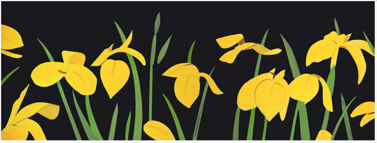 Yellow Flags 2 by Alex Katz