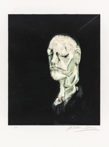 Masque Mortuaire De William Blake by Francis Bacon