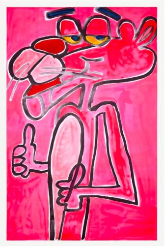 Pink by Katherine Bernhardt