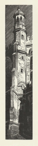 Chapel Tower, Eton by Anne Desmet