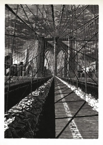 Brooklyn Bridge: New Day by Anne Desmet