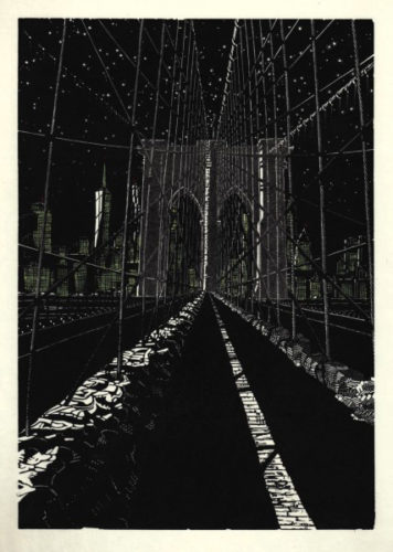 Brooklyn Bridge: Stars by Anne Desmet