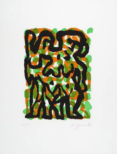 Zwillinge (twins) by A.R. Penck