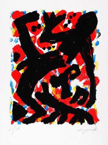 Dresden 1992 Blatt 2 by A.R. Penck