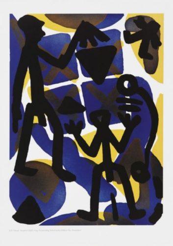 Serie I Vergleich by A.R. Penck at