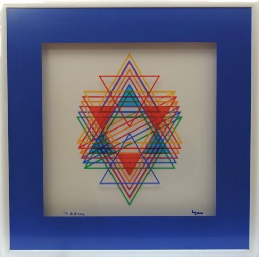 Variations On The Star by Yaacov Agam