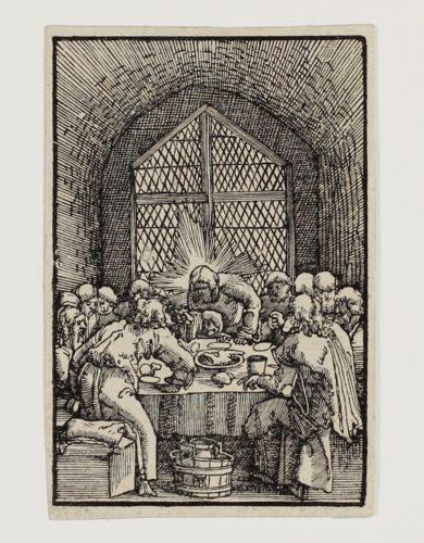 Das Letzte Abendmahl (the Last Supper) by Albrecht Altdorfer at Albrecht Altdorfer