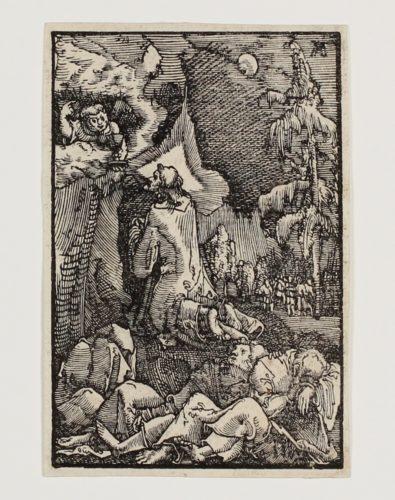 Christus Am Ölberg (christ On The Mount Of Olives) by Albrecht Altdorfer at Albrecht Altdorfer
