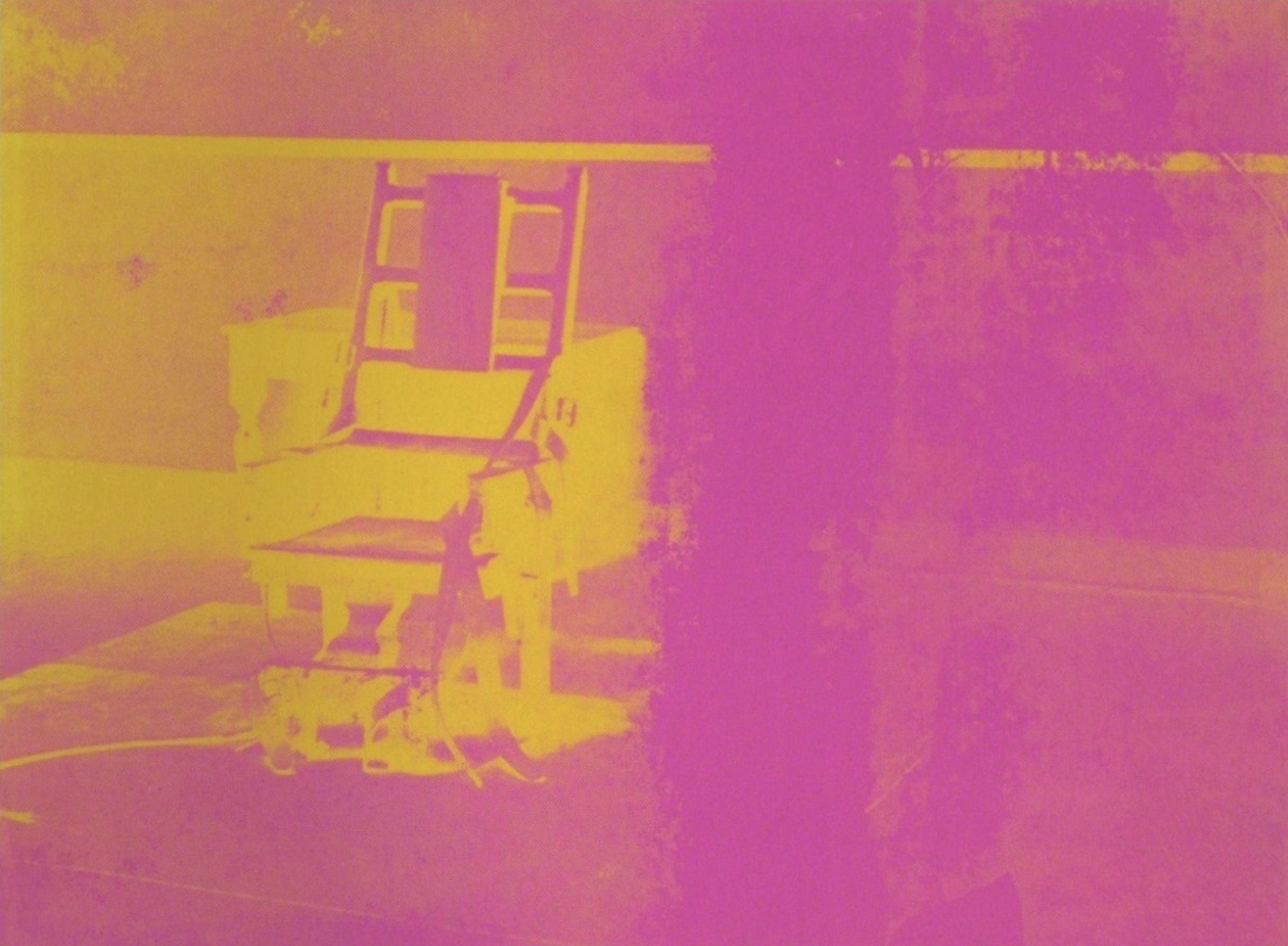 Electric Chairs Fs Ii.82 by Andy Warhol