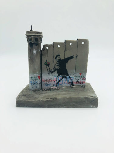 Walled Off Hotel – Wall Sculpture by Banksy at