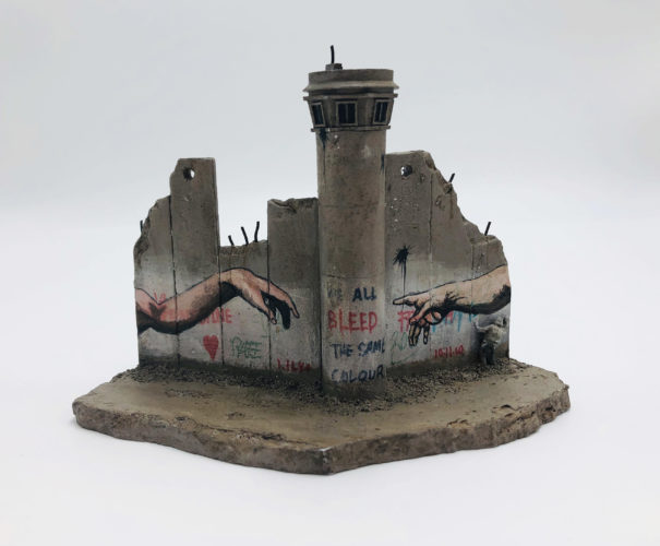 Walled Off Hotel – Wall Sculpture by Banksy at Lougher Contemporary