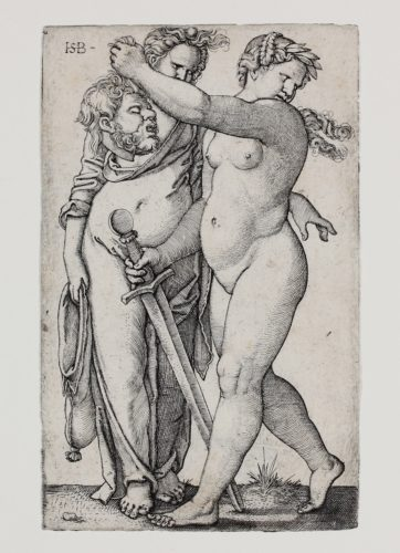 Judith Mit Dem Haupt Des Holofernes (judith With The Head Of Holofernes) by Hans Sebald Beham at