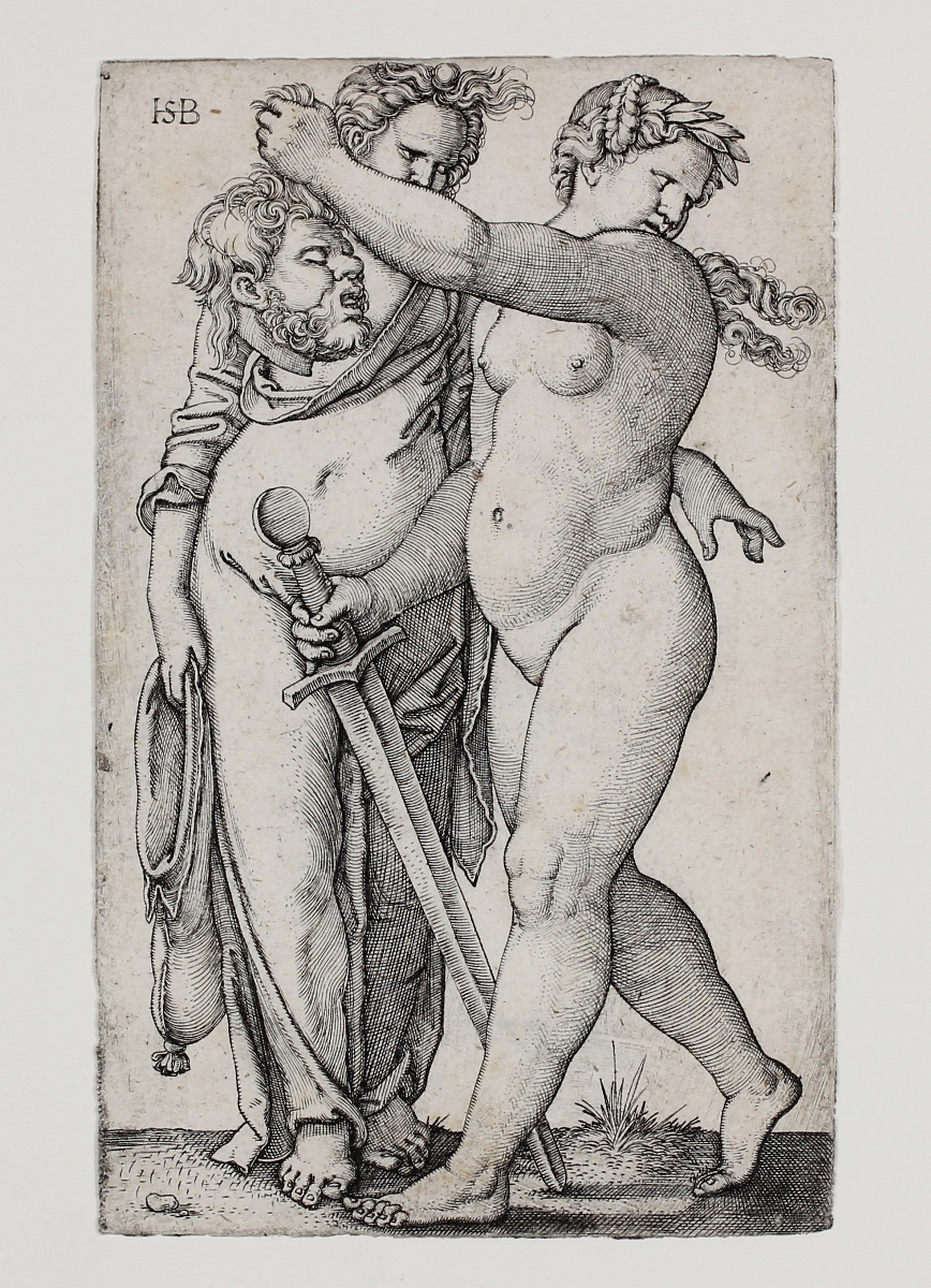 Judith Mit Dem Haupt Des Holofernes (judith With The Head Of Holofernes) by Hans Sebald Beham