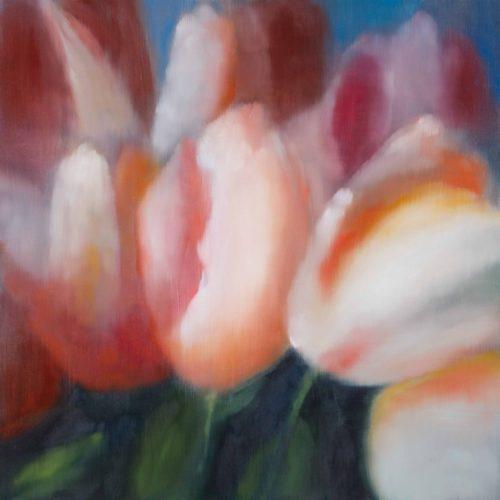 Light Flowers Iii by Ross Bleckner at