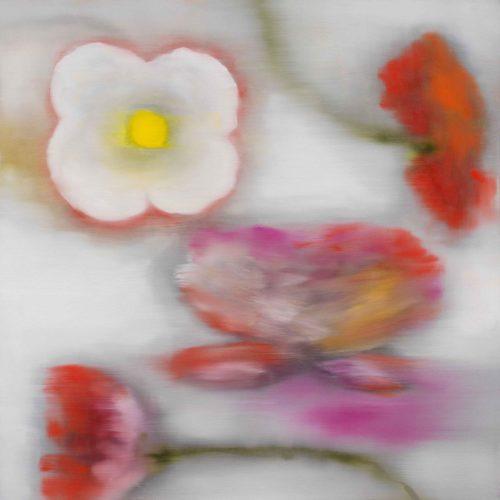 Light Flowers Ii by Ross Bleckner
