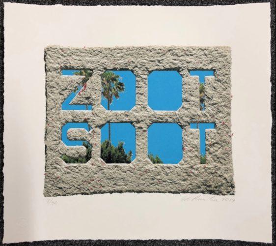 Zoot Soot by Ed Ruscha at Ed Ruscha