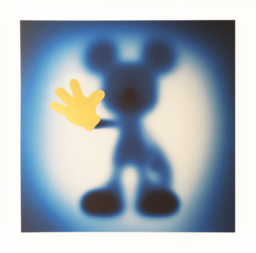 Gone Mickey (blue-gold) by Whatshisname at Whatshisname