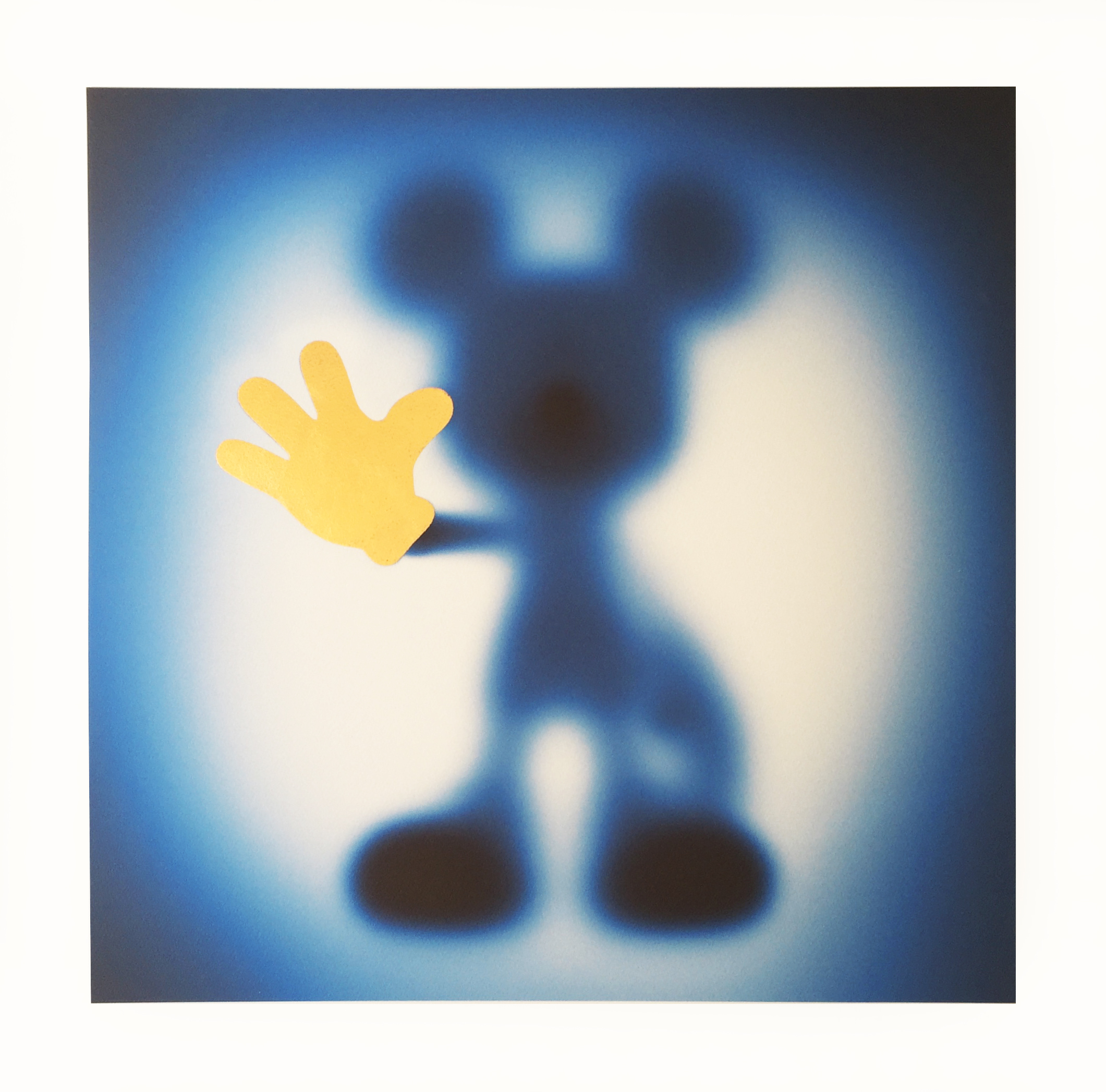 Gone Mickey (blue-gold) by Whatshisname