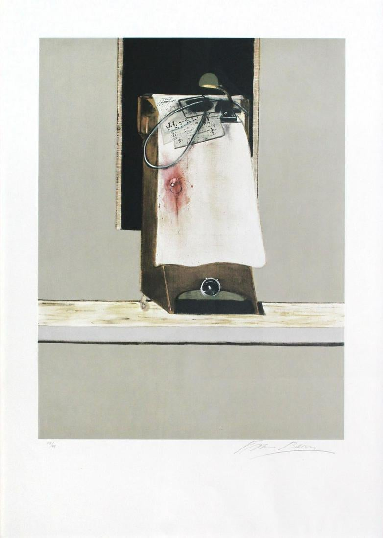 """Panel From """"triptych 1986-1987"""" by Francis Bacon"""