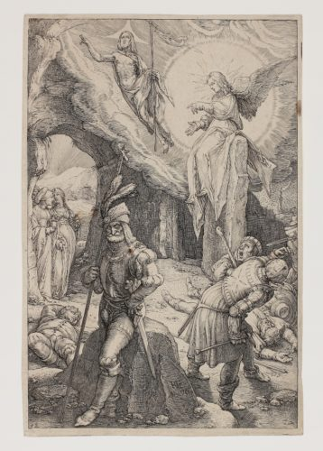 The Resurrection by Hendrik Goltzius