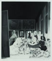 Picasso's Meninas by Richard Hamilton at
