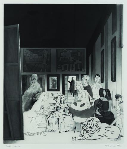 Picasso's Meninas by Richard Hamilton at Richard Hamilton